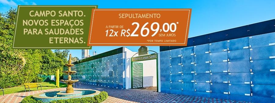Cemitério Campo Santo alia tradição e modernidade  com ampliação e prestação de melhores serviços